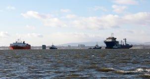 Ημικαταδυόμενο βαρύ σκάφος μεταφορών απόθεμα βίντεο