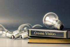 Δημιουργήστε το όραμα Στοκ Εικόνες