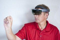 δημιουργία της εικονικής πραγματικότητας Στοκ εικόνα με δικαίωμα ελεύθερης χρήσης