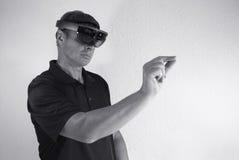 δημιουργία της εικονικής πραγματικότητας Στοκ εικόνες με δικαίωμα ελεύθερης χρήσης