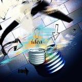 δημιουργική ιδέα Στοκ Εικόνα