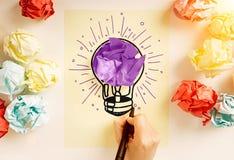 δημιουργική ιδέα στοκ εικόνες