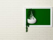 Δημιουργικό ντεκόρ στον τοίχο Στοκ εικόνα με δικαίωμα ελεύθερης χρήσης