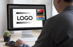 δημιουργικό σκίτσο γραφικό λ σχεδιαστών εμπορικών σημάτων εργασίας δημιουργικότητας σχεδίου Στοκ Εικόνες