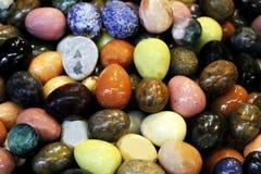 Ημιπολύτιμες πέτρες παζαριών. Στοκ Εικόνες