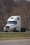 ημι λευκό truck Στοκ εικόνα με δικαίωμα ελεύθερης χρήσης