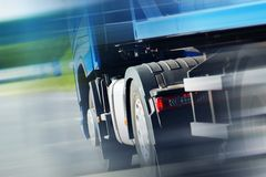 Ημι φορτηγό Spedition Στοκ φωτογραφίες με δικαίωμα ελεύθερης χρήσης