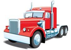 ημι truck Στοκ εικόνες με δικαίωμα ελεύθερης χρήσης