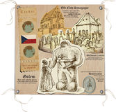 Δημοκρατία της Τσεχίας - εικόνες της ζωής, μυστική Πράγα Στοκ Εικόνα