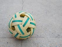 δημοφιλής αθλητισμός ινδικού καλάμου σφαιρών της Ασίας sepak takraw Στοκ Εικόνες