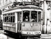 δημόσιες συγκοινωνίες της Λισσαβώνας Στοκ Εικόνα