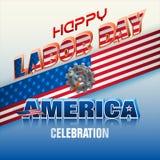 Ηνωμένες Πολιτείες της Αμερικής, εορτασμός Εργατικής Ημέρας Στοκ Φωτογραφίες