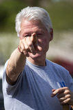 Ηνωμένες Πολιτείες Πρόεδρος Bill Clinton Στοκ φωτογραφία με δικαίωμα ελεύθερης χρήσης
