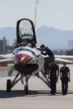 Ηνωμένη Πολεμική Αεροπορία Thunderbirds Στοκ Εικόνες