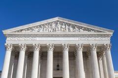 Ηνωμένο ανώτατο δικαστήριο, Washington DC στοκ εικόνες