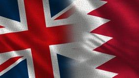 Ηνωμένο Βασίλειο και Μπαχρέιν ελεύθερη απεικόνιση δικαιώματος