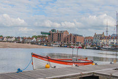 Ηνωμένο Βασίλειο - φρεάτια έπειτα η θάλασσα στοκ εικόνες με δικαίωμα ελεύθερης χρήσης