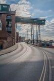 Ηνωμένο Βασίλειο - φρεάτια έπειτα η θάλασσα Στοκ Εικόνα