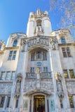 Ηνωμένο Γουέστμινστερ Λονδίνο Αγγλία ανώτατου δικαστηρίου Στοκ Εικόνες