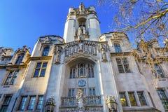 Ηνωμένο Γουέστμινστερ Λονδίνο Αγγλία ανώτατου δικαστηρίου Στοκ φωτογραφία με δικαίωμα ελεύθερης χρήσης