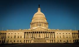 Αμερικανικό Capitol κτήριο Στοκ εικόνα με δικαίωμα ελεύθερης χρήσης