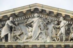 Ηνωμένο Capitol κτήριο - Ουάσιγκτον, συνεχές ρεύμα στοκ εικόνες
