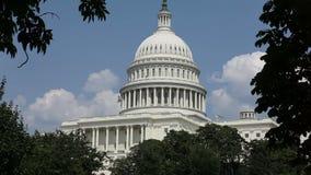 Ηνωμένο Capitol κτήριο, Ουάσιγκτον, συνεχές ρεύμα φιλμ μικρού μήκους