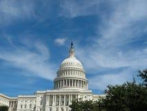 Ηνωμένο Capitol κτήριο στην Ουάσιγκτον, συνεχές ρεύμα στοκ φωτογραφίες με δικαίωμα ελεύθερης χρήσης