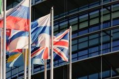 Ηνωμέν Βασίλειο Μεγάλης Βρετανίας και βορείου ιρλανδίας, Ένωση Jac Στοκ φωτογραφία με δικαίωμα ελεύθερης χρήσης