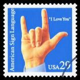 Αμερικανικό γραμματόσημο στοκ φωτογραφία με δικαίωμα ελεύθερης χρήσης