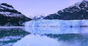 ΗΠΑ, Αλάσκα, εθνικό πάρκο κόλπων παγετώνων, παγκόσμια φυσική κληρονομιά απόθεμα βίντεο