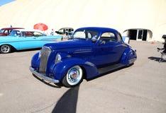 ΗΠΑ: Αυτοκίνητο συνήθειας - το 1937 Chevy βουίζει το κάθισμα Στοκ Εικόνες