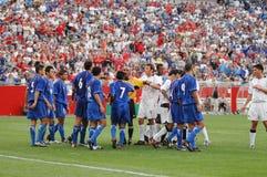 2004 ΗΠΑ β Ελ Σαλβαδόρ Στοκ εικόνα με δικαίωμα ελεύθερης χρήσης