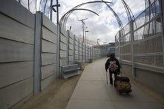 ΗΠΑ - Καλιφόρνια - SAN Ysidro - τα σύνορα στοκ φωτογραφία με δικαίωμα ελεύθερης χρήσης