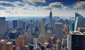 15 03 2011, ΗΠΑ, Νέα Υόρκη:: Η άποψη από το observat Στοκ φωτογραφία με δικαίωμα ελεύθερης χρήσης