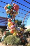 ΗΠΑ, AZ: Έκθεμα Chihuly - πολυέλαιος Polyvitro, 2006 Στοκ Εικόνες