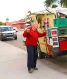 ΗΠΑ, AZ: Astrophotographer Richard Andreassen στοκ φωτογραφία με δικαίωμα ελεύθερης χρήσης