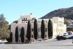 ΗΠΑ, AZ/Bisbee: Αρχιτεκτονική - οικοδόμηση του Art Deco Στοκ εικόνα με δικαίωμα ελεύθερης χρήσης