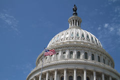 ΗΠΑ Capitol - κυβερνητικό κτήριο Στοκ εικόνες με δικαίωμα ελεύθερης χρήσης
