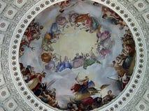 ΗΠΑ Capitol Rotunda Στοκ φωτογραφίες με δικαίωμα ελεύθερης χρήσης