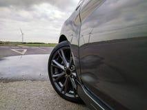Ηπειρωτικά ελαστικά αυτοκινήτου - ContiSportContact5 Στοκ φωτογραφία με δικαίωμα ελεύθερης χρήσης