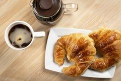 Ηπειρωτικός καφές προγευμάτων con Στοκ φωτογραφίες με δικαίωμα ελεύθερης χρήσης