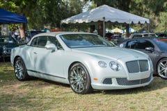 Ηπειρωτικό GTC αυτοκίνητο Bentley στην επίδειξη Στοκ Φωτογραφίες