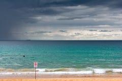 Ηρεμώντας θύελλα Στοκ Εικόνα