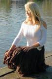ηρεμώντας ύδατα Στοκ φωτογραφία με δικαίωμα ελεύθερης χρήσης