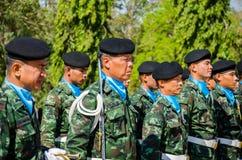 Ηρωικοί άνθρωποι Bangrachan ψυχής θυσίας Στοκ Εικόνες
