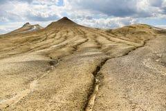 Ηφαίστεια λάσπης γνωστά επίσης ως θόλοι λάσπης στοκ εικόνες με δικαίωμα ελεύθερης χρήσης
