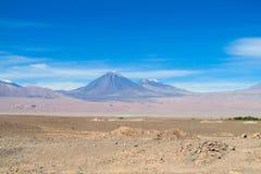 Ηφαίστεια ερήμων Atacama Στοκ Εικόνες