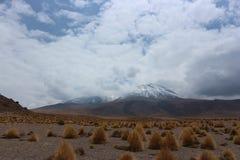 Ηφαίστεια στην έρημο Atacama Στοκ Εικόνα