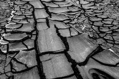 Ηφαίστειο λάσπης σε gobustan στο Αζερμπαϊτζάν Στοκ Φωτογραφία